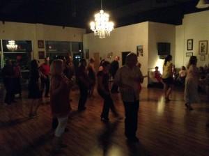 Cinco de Mayo dance party.